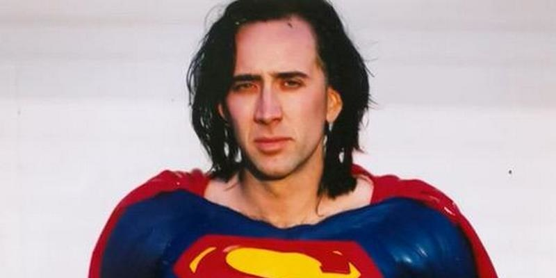 Nick cage superman